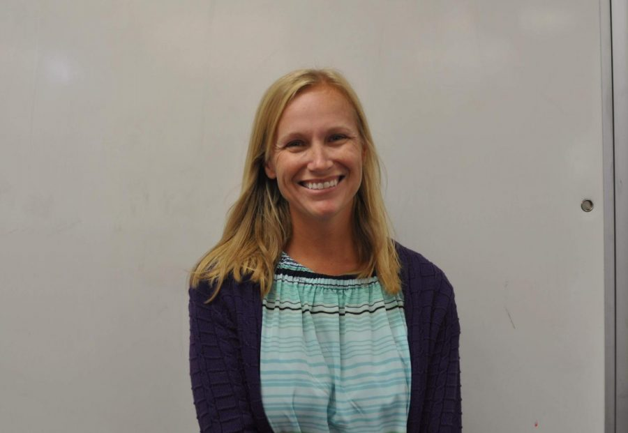 New special education teacher, Shannon Vanwagner