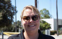Katie Tedford, an assistant principal returns