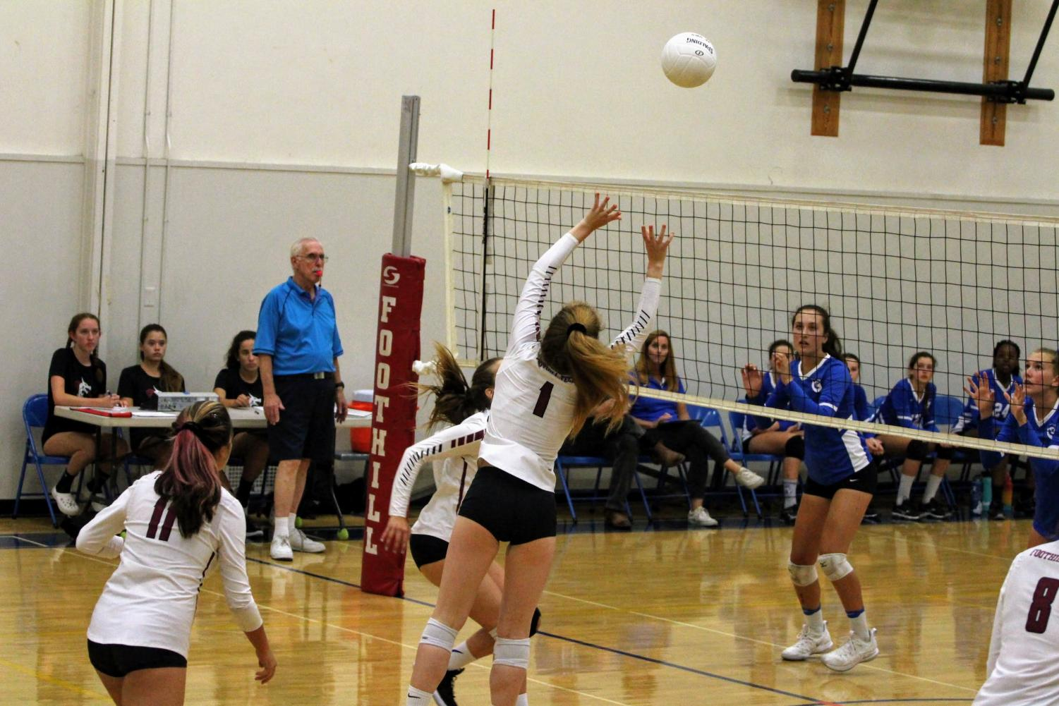 Fae Armstrong '21 with a strong set
