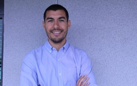 New Spanish teacher, Alberto Ortiz