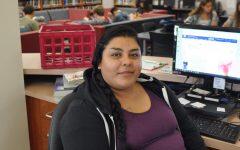 New media center employee, Cynthia Magana