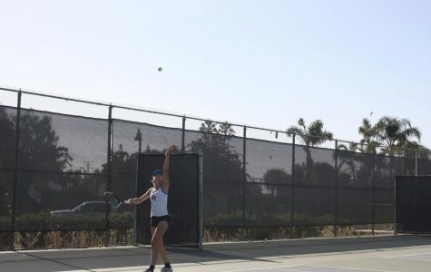 Girls' tennis triumphs over rival school