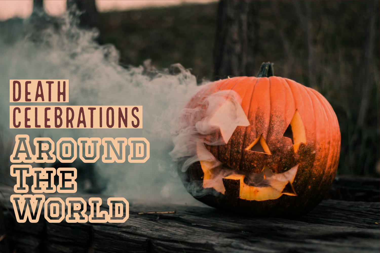 Although Halloween is what we think of during Oct. 31, different cultures around the world celebrate different things