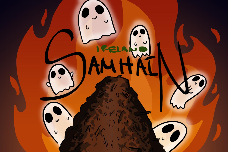 Samhain celebration in Ireland