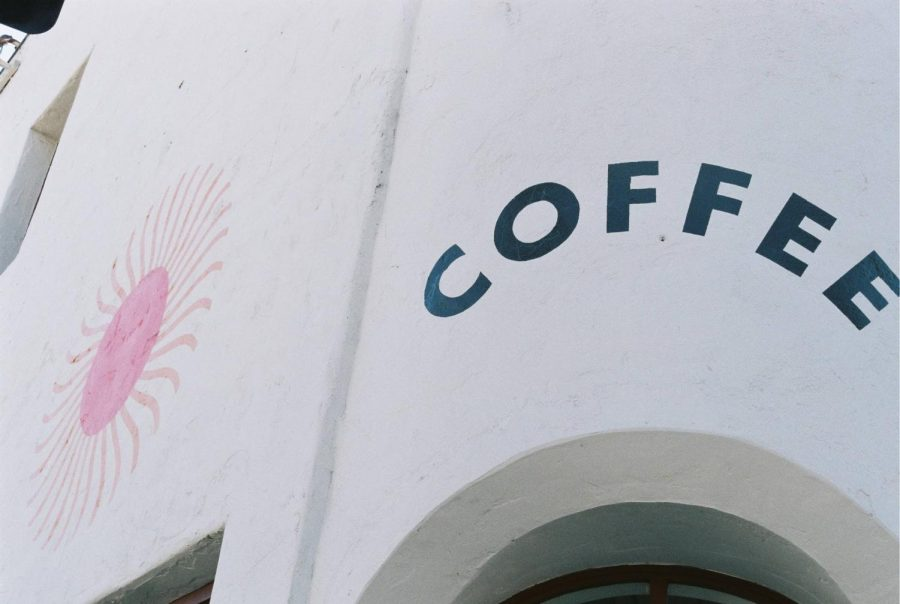 Singing Sun Coffee sits on the corner on E. Main St. and S Santa Cruz St.