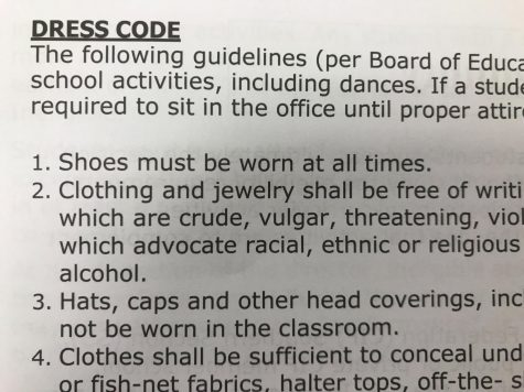 News Brief: Revised dress code