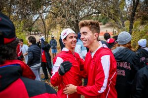Brooke Secreto '21 wins first in cross country state division, Boys take it all