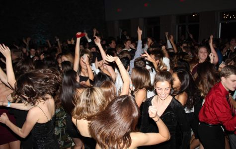 Students from every grade level enjoy their time on the dance floor.
