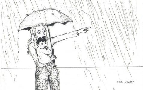 Cartoonist Naomi Schmitt feels like rain is phenomenon few Californians have experienced