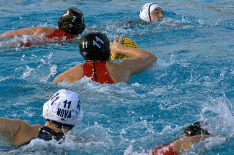 Girls Water Polo dominates against Villanova Wildcats