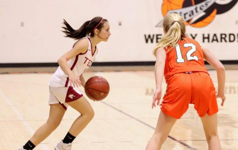 Girls basketball crushes Thacher in last game of the season