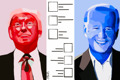 A tale of two candidates: Donald Trump vs. Joe Biden