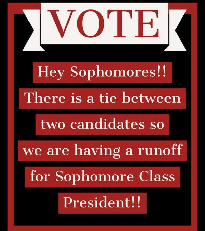 The Instagram post from @fthsasb, with details on how to participate in the revote.