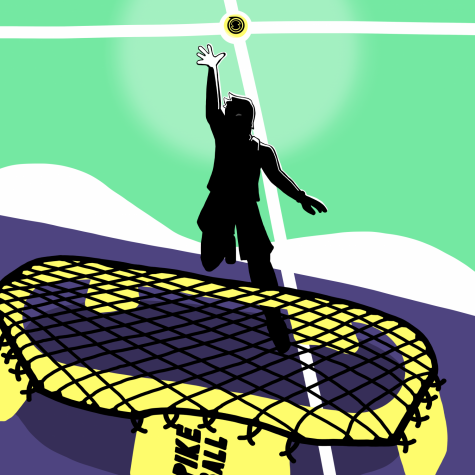 The invigorating game of Spikeball is beloved by casual and competitive players alike.