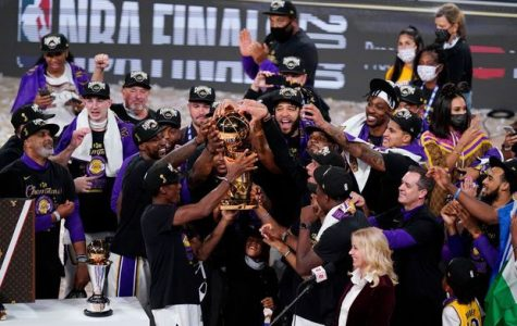 The Los Angeles Lakers had plenty of reason to celebrate after defeating the Miami Heat in the NBA Finals. Credit: NBA.com.