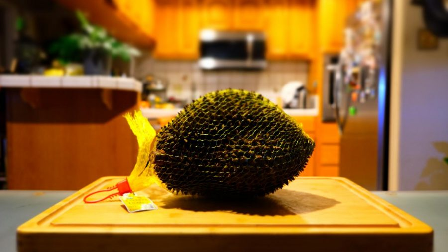 The fabled durian is known for its spiky appearance and pungent scent.