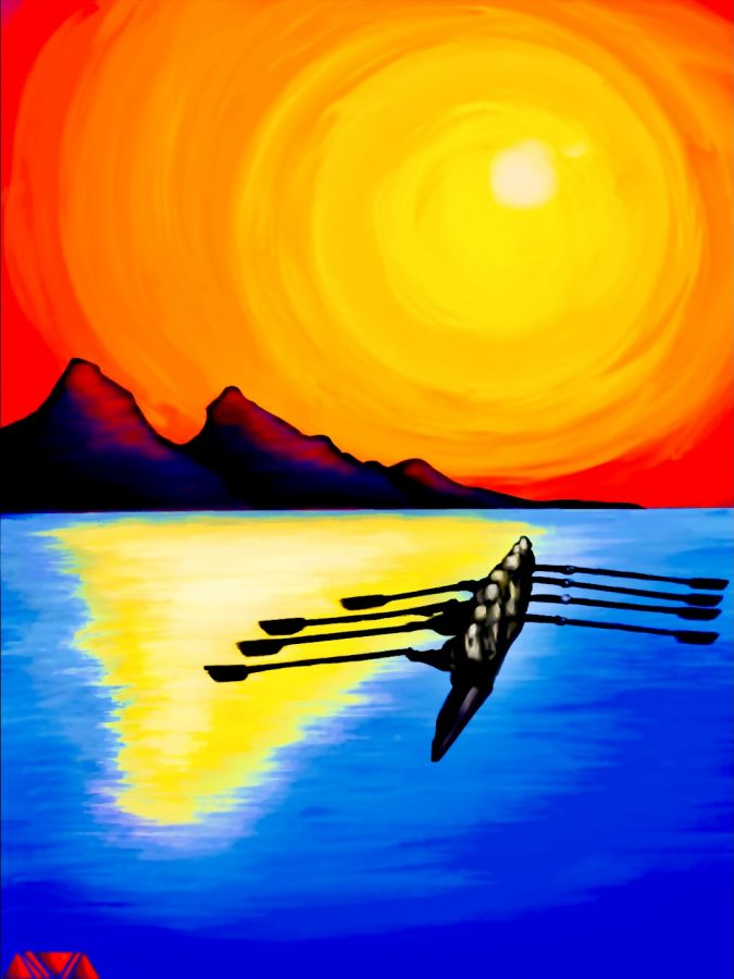Beautiful bodies of water are a given for rowers, and a favorite aspect of the sport for those who love nature.