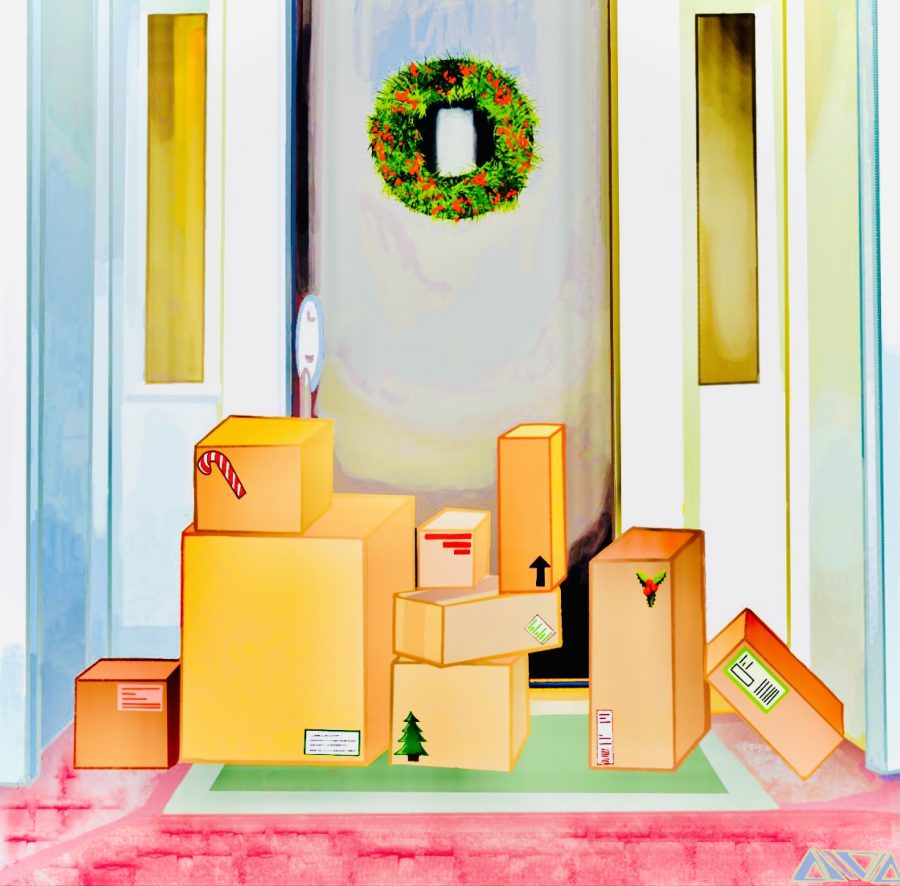 Packages seem to fall like snow on the steps of those looking to stay safe and shop online in this pandemic holiday season.