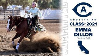 Emma Dillon '21 commits to UC Davis equestrian team