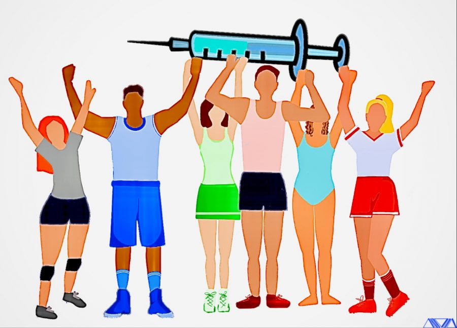 Optimistic athletes share their insight on the COVID-19 vaccine