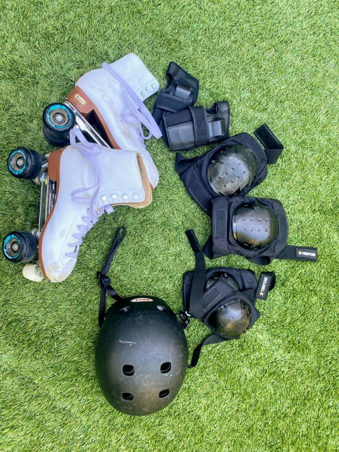 Here is some of the gear that will make your first time skating easier.