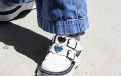 Accessories like shoes can transform an outfit and make it unique.