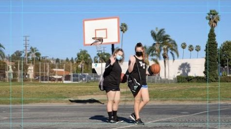 Day in the pandemic: Girls' basketball practice