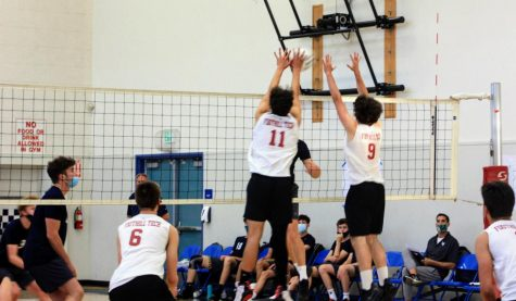 Boys' volleyball bested 3-0 by Laguna Blanca
