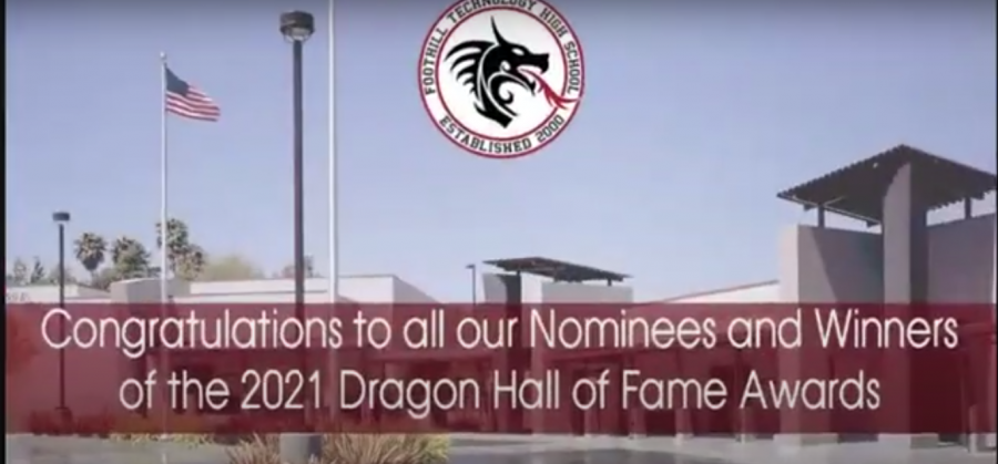 The Class of 2021 participated in a virtual Senior Awards event live-streamed on YouTube amid COVID-19 safety concerns. Credit: White Rabbit Magic & Foothill Technology High School.