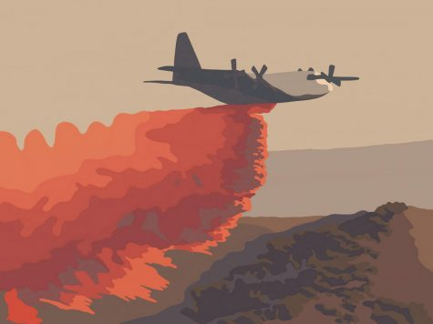 As the temperature rises across the coast and inland, fires become a summer potential like, the Casitas Fire.