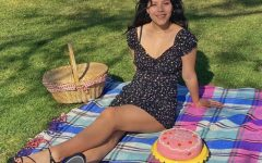 Erica enjoyed, picnicking at Cemetery Park with her friends, describes her mother and twin sister.