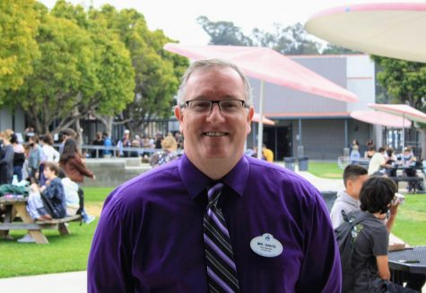New Assistant Principal Davis receives a warm welcome from Foothill Tech amid the new school year.