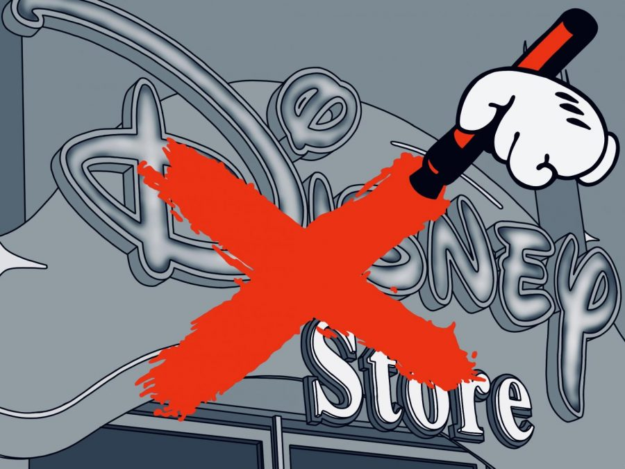 The magic ends, Disney stores closing across North America