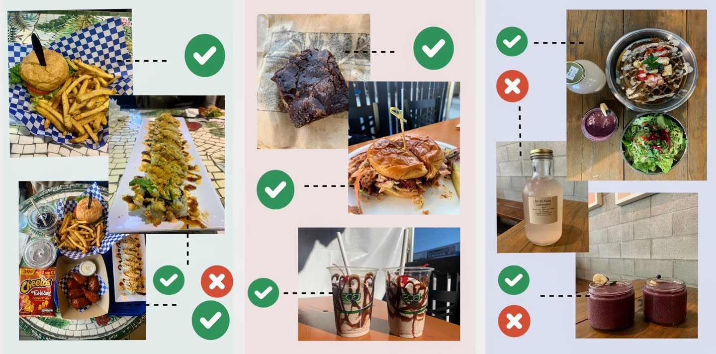 A collective summary of the dishes we reviewed in this extensive adventure of plant-based cuisine.