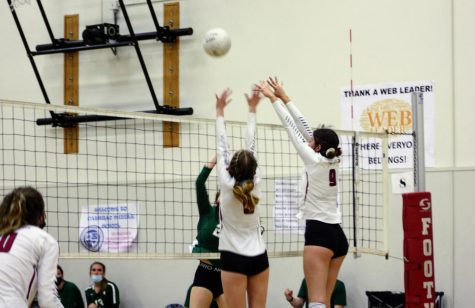 Girls' Volleyball pulls off comeback over rival St. Bonaventure followed by a celebratory Senior Night sweep over Laguna Blanca