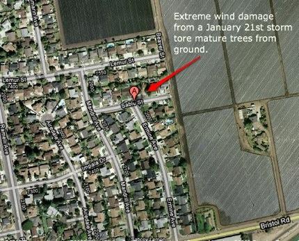 Tornado damages Ventura homes, businesses (20 photos)
