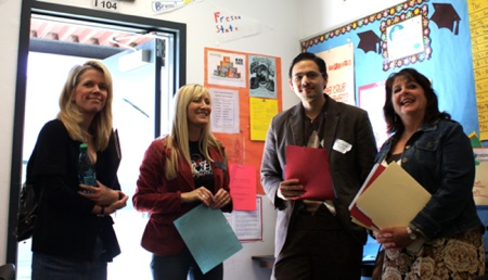 Foothill demonstrates AVID to SoCal schools