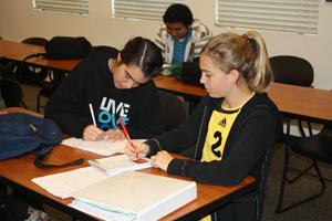 Freshmen prepare 9th grade projects for big day
