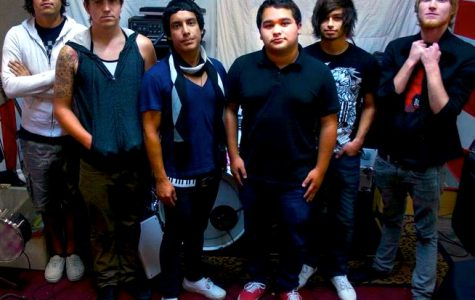 Photo: Of Beloved band members include, from left to right, Ulises Gomez, Derek Taylor, Ramiro Espinoza, Gabe Hernandez, Jason Gould and Justin Medeiros. Photo courtesy of Tayna Tsareva.