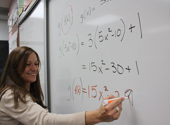 Foothill staff member Cathy Gaspard takes leave from her position as a math teacher to focus on her PhD. Credit: Anaika Miller/ The Foothill Dragon Press.