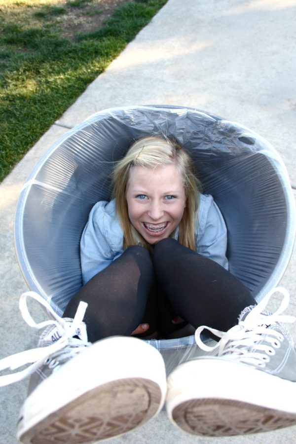 Junior Hailey Winfield shows her sense of humor. Photo Illustration by Bethany Fankhauser/The Foothill Dragon Press.