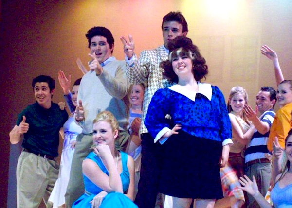 "With a lot of talent and a lot of hair, the Ventura High Drama Department gave a crowd-pleasing performance of ""Hairspray.""  Credit: Rachel Crane/The Foothill Dragon Press."
