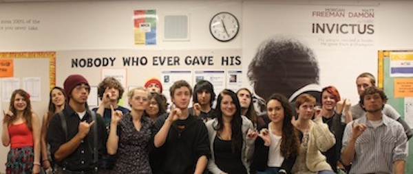 Members of Foothills High Society club try to keep it classy during their weekly meetings. Credit: Maya Morales/The Foothill Dragon Press.