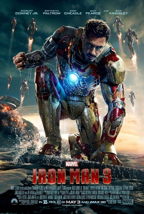 """""""Iron Man 3"""" provided action throughout its running time of 130 minutes. Credit: Walt Disney Studios Motion Pictures/The Foothill Dragon Press"""