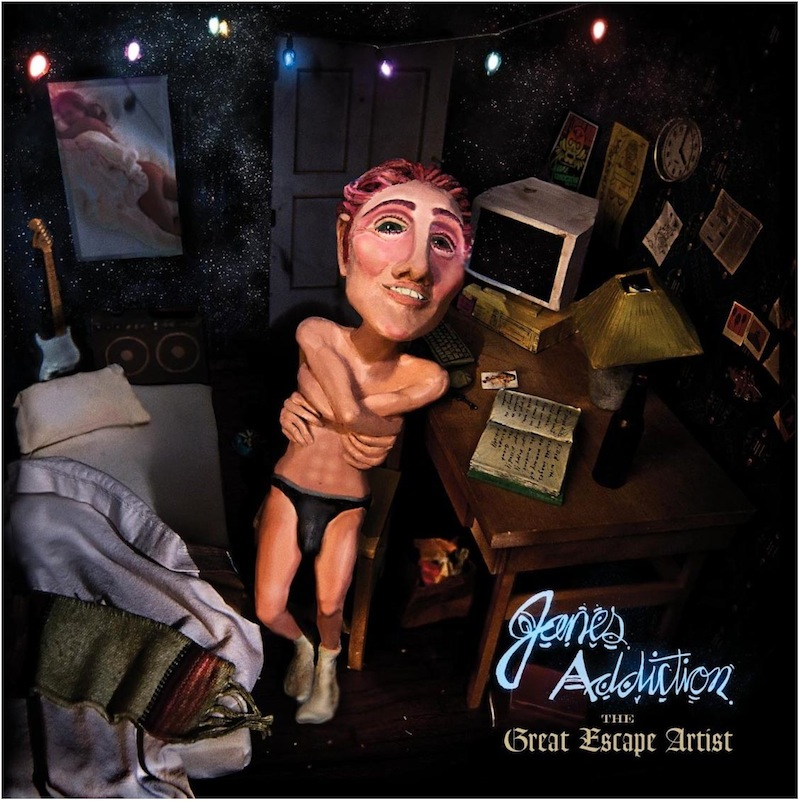 """Jane's Addiction released their new album, """"The Great Escape Artist,"""" on October 14. Credit: Capitol Records."""