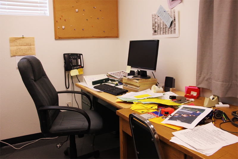 The+empty+office+of+retiring+Campus+Supervisor+Jim+Lewis.+Credit%3A+Aysen+Tan%2FThe+Foothill+Dragon+Press
