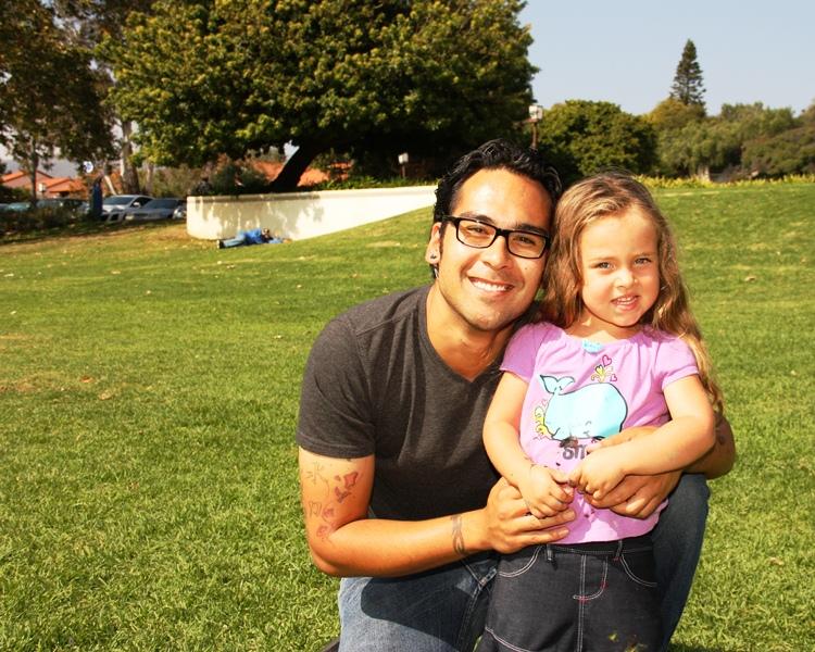 Joe Dicarlo, 26: I hope to see change for my child