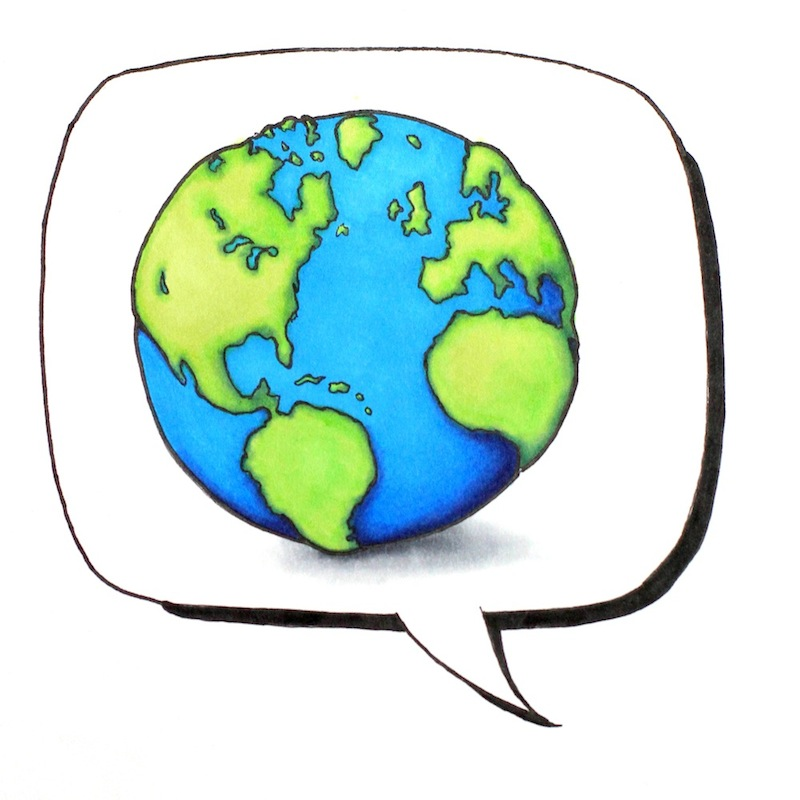 If each of us learned just one foreign language, we could communicate with so many more people around the world. Credit: Claire Stockdill/The Foothill Dragon Press