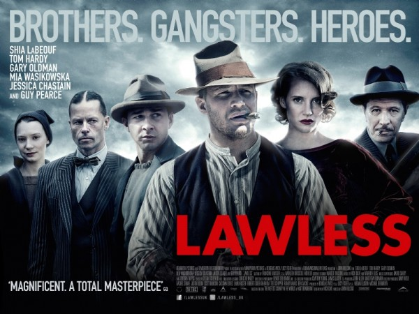 """""""Lawless"""" was released on August 29, 2012. Credit: Filmnation Entertainment"""