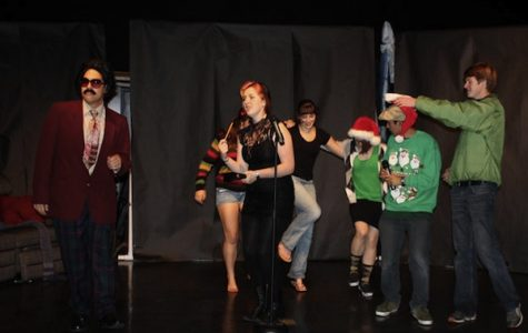 Speech team gets silly with holiday spirit